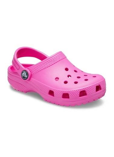 Crocs 204536-6Qq Kids Classic Clog Çocuk Terlik Pembe